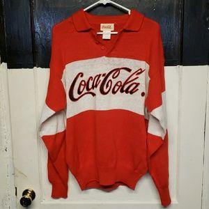 Coca cola vintage sweater large
